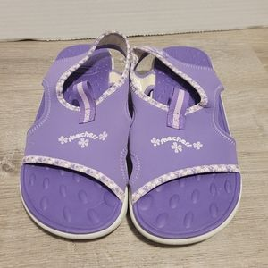 Girls Skechers sandals size 6 Youth